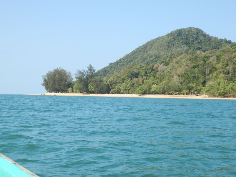Aow Mook noch einmal direkt an der Kham Island