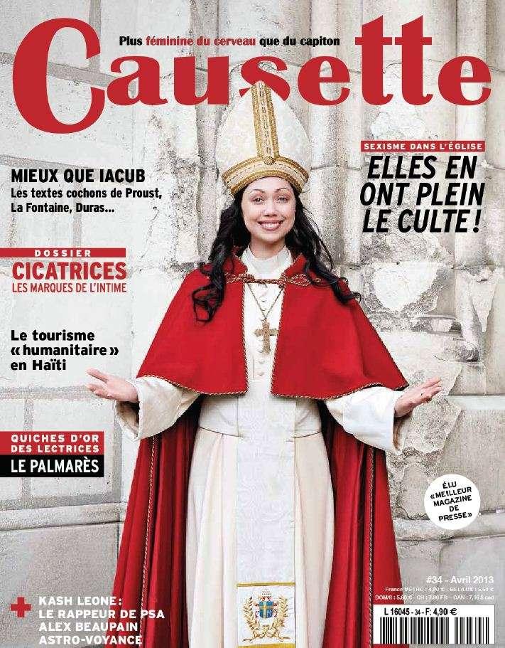 Causette N°34 Avril 2013