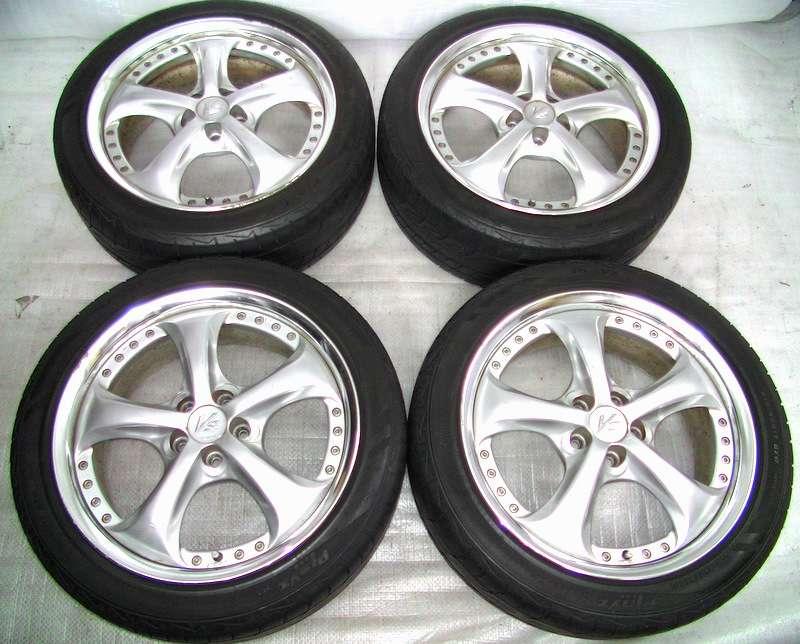 WORK VS-KF Alloy rims wheels 17 7J 5x100 Celica Liberty Impreza