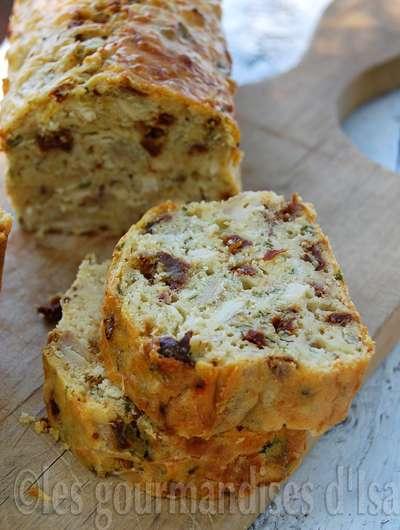 Cake Moelleux Tomates S Ef Bf Bdch Ef Bf Bdes