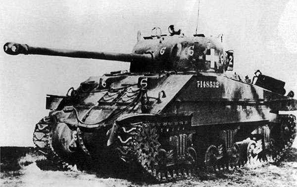 sherman tanks in der udssr