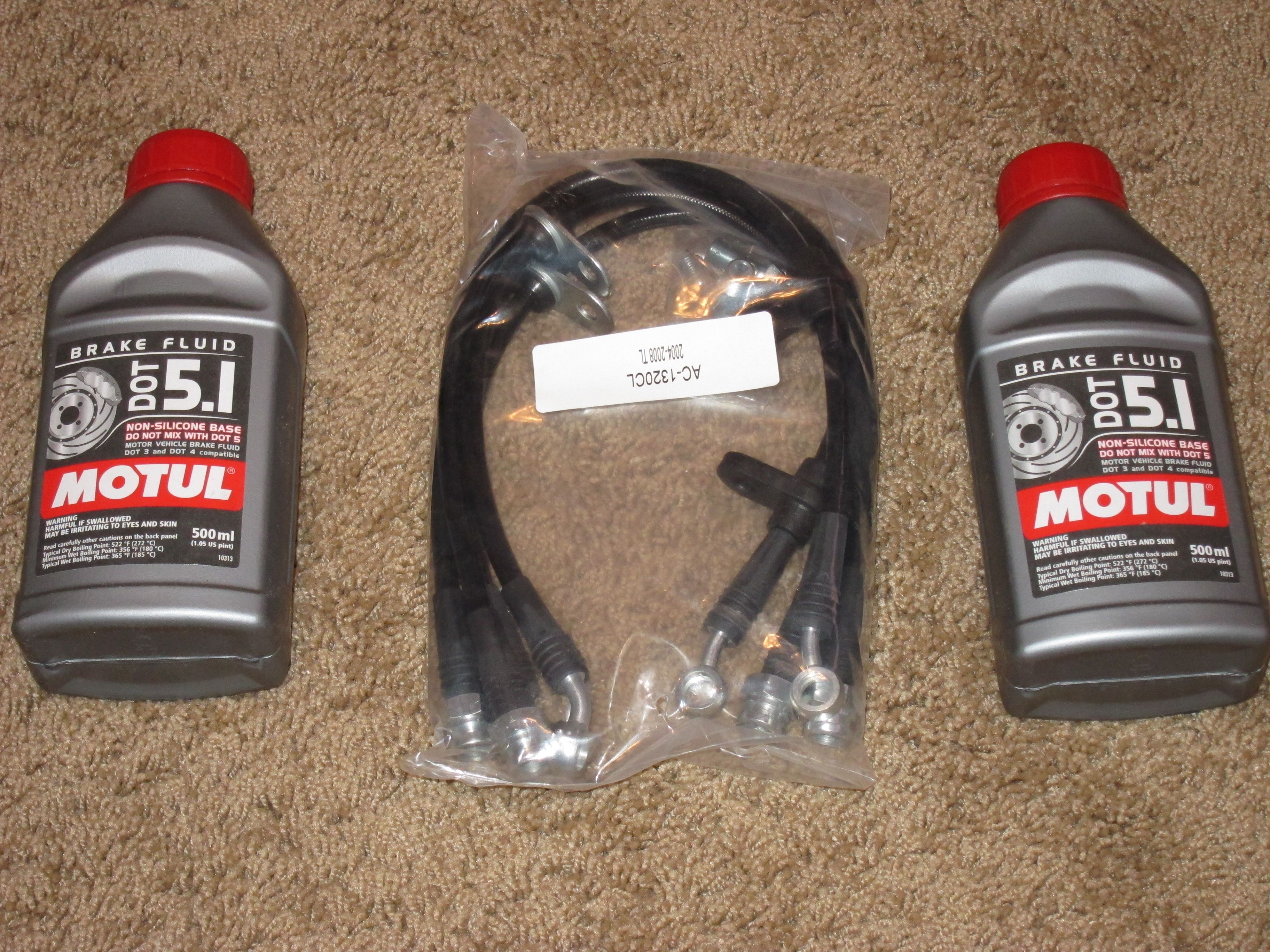 Stainless Steel Brake Lines and High Performance Fluid