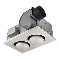Broan 164 2 Bulb Ventilation Heater Bath Fan W Lights Ebay